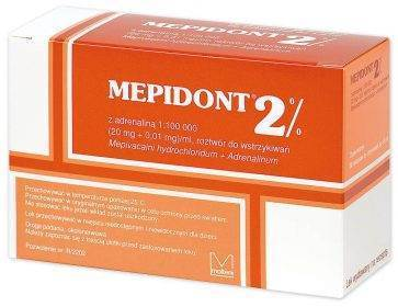 MEPIDONT 2% ADR 1:100 000 brązowy