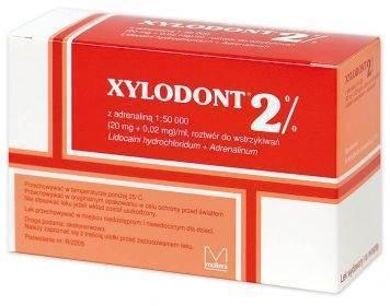 XYLODONT 2% ADR 1: 50 000 czerwony