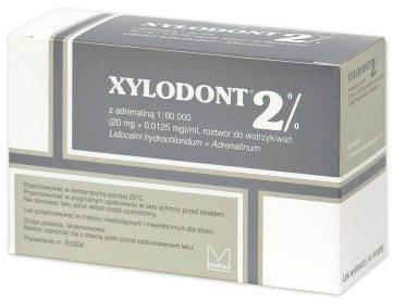 XYLODONT 2% ADR 1: 80 000 szary