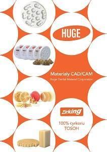 Huge Dental - Materiały CAD/CAM