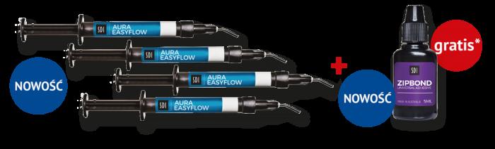 Aura Easyflow Intro Kit + Zipbond 5 ml – GRATIS