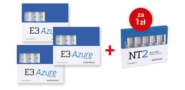 3 x Endostar E3 Azure Ht Technology