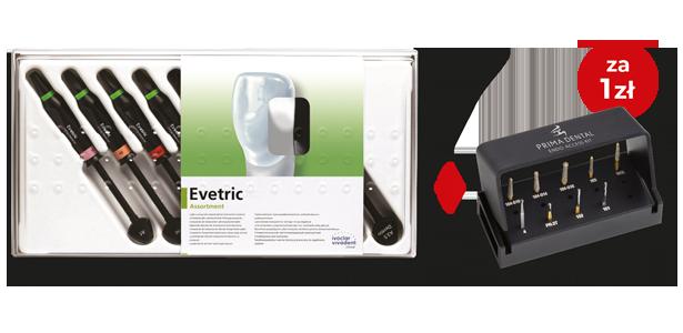 Evetric Assortment 8 x 3,5 g + Zestaw Prima Endo Access Kit
