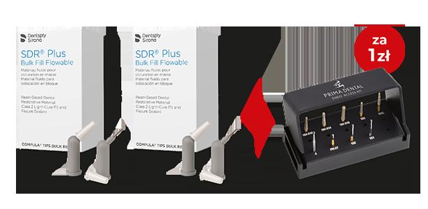 SDR® Plus Eco refill + Zestaw Prima Endo Access Kit