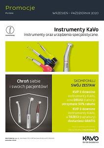 [KaVo] Promocje Instrumenty wrzesień - październik 2020