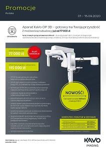 [KaVo] Promocje Radiologia wrzesień 2020