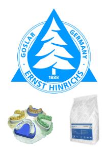 Ernst Hinrichs Dental - Gips/Piasek/Pumeks