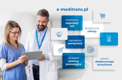 Nowa stomatologiczna platforma zakupowa e-meditrans.pl