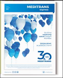 Meditrans Express lipiec - sierpień 2021