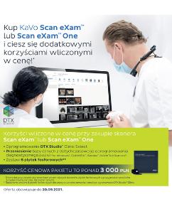 [Kavo] KaVo Scan eXam lub KaVo Scan eXam One - Promocja